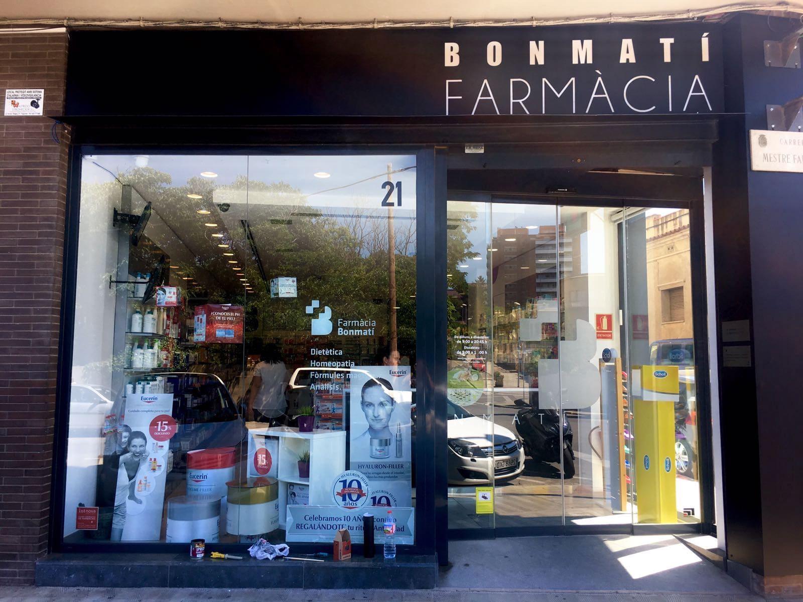 BONMATI2 - Fabricación rótulos empresas