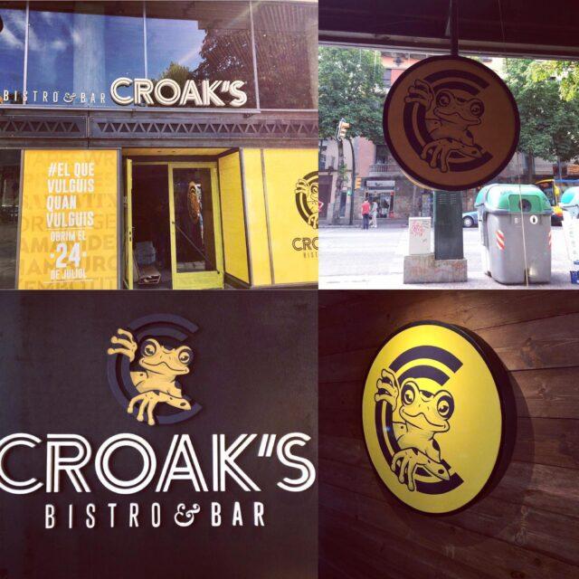 CROAKS 640x640 - Rètols d' Empresa
