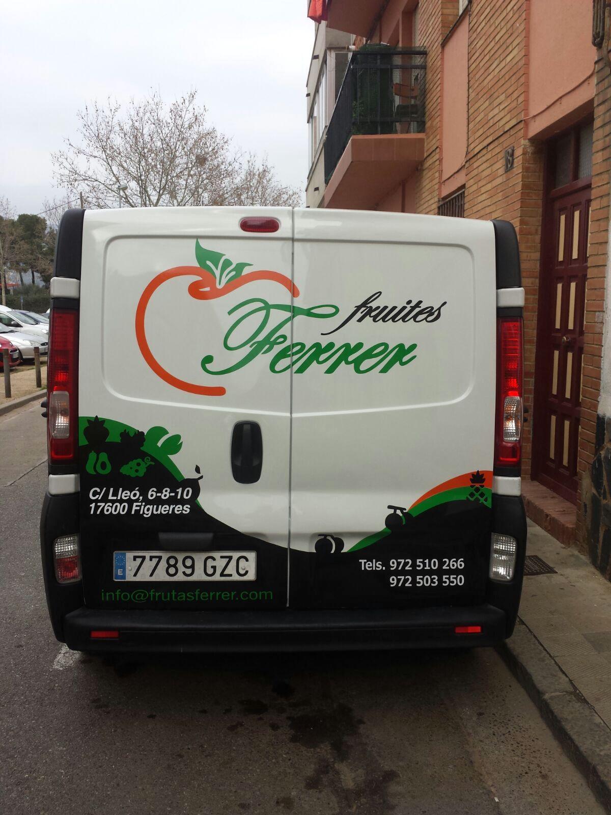 FRUITESFERRER3 - Retolació vehicles