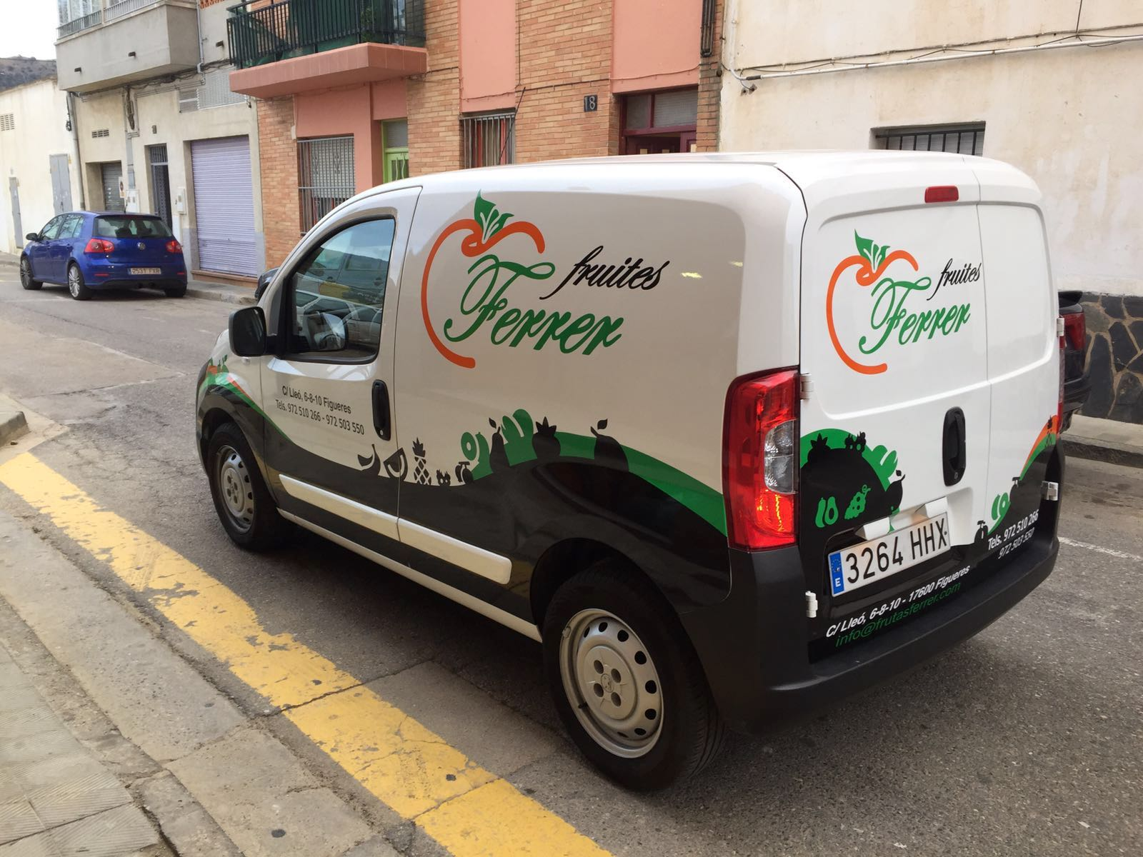 FRUITESFERRER4 - Retolació vehicles