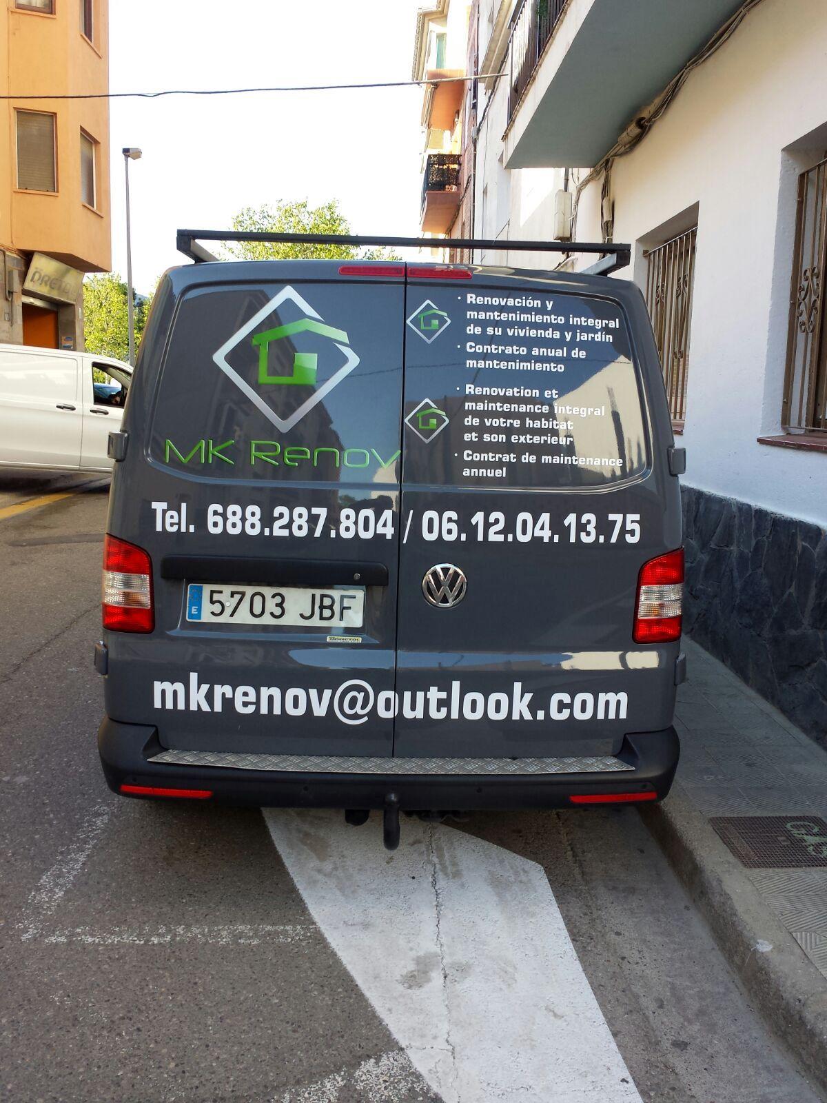 MKRENOV - Retolació vehicles
