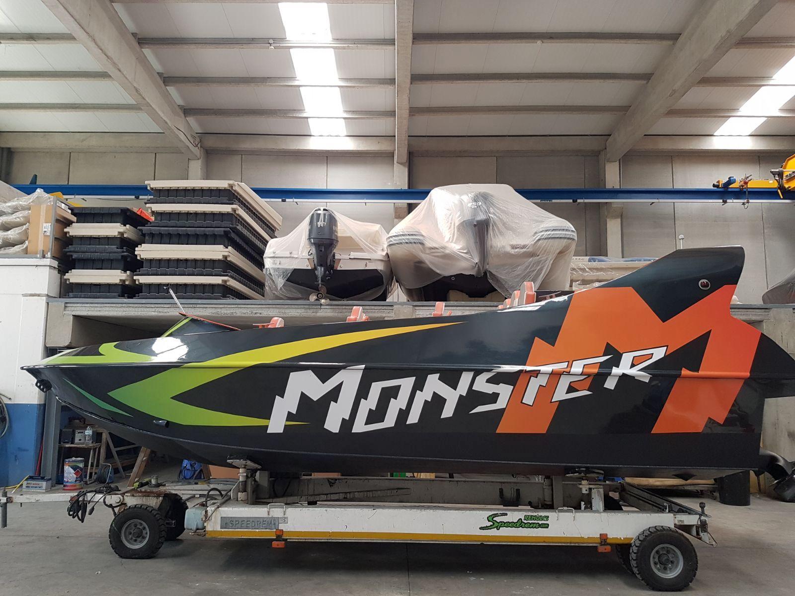 MONSTER2 - Retolació embarcacions