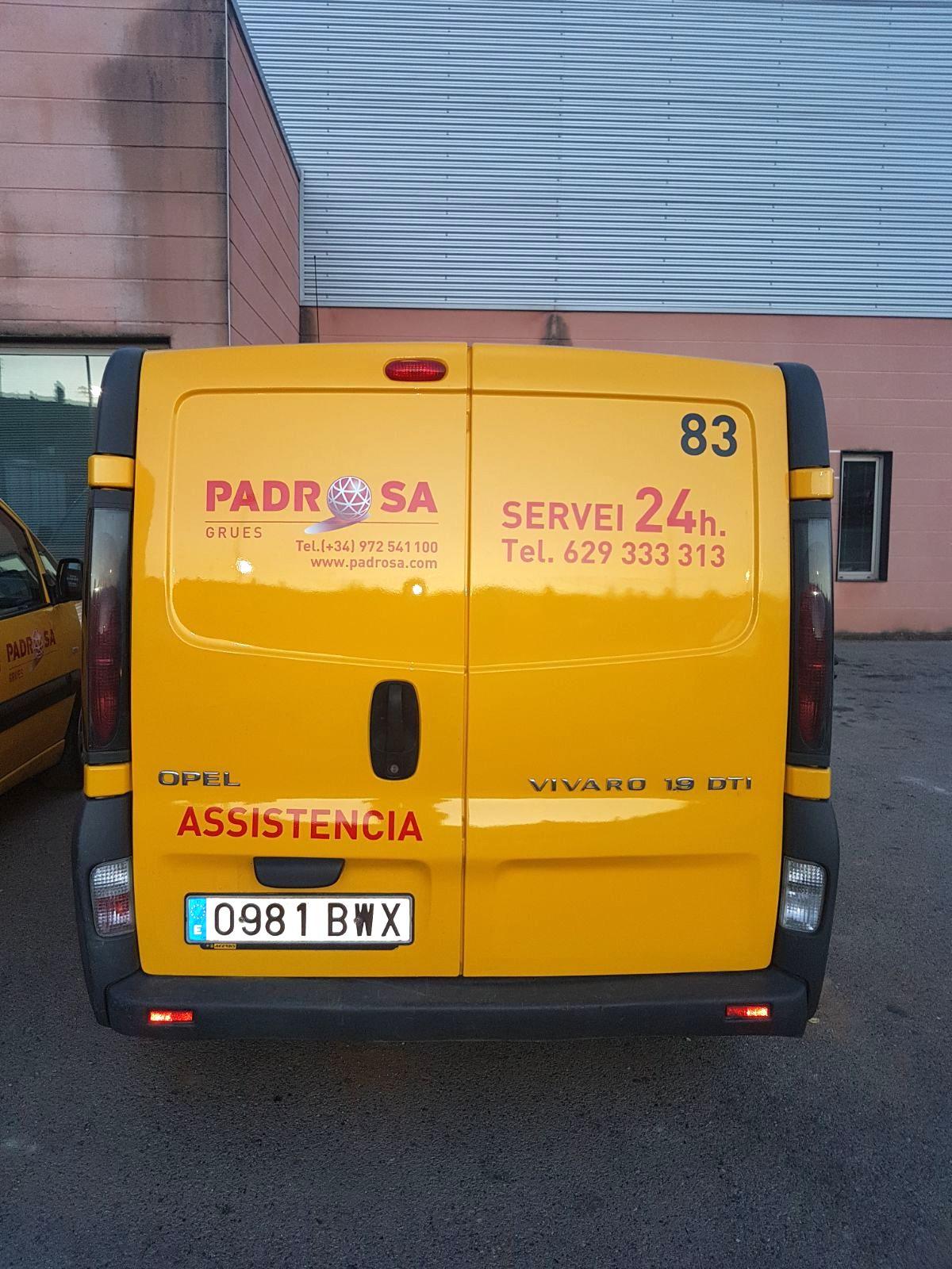 PADROSA3 - Retolació vehicles