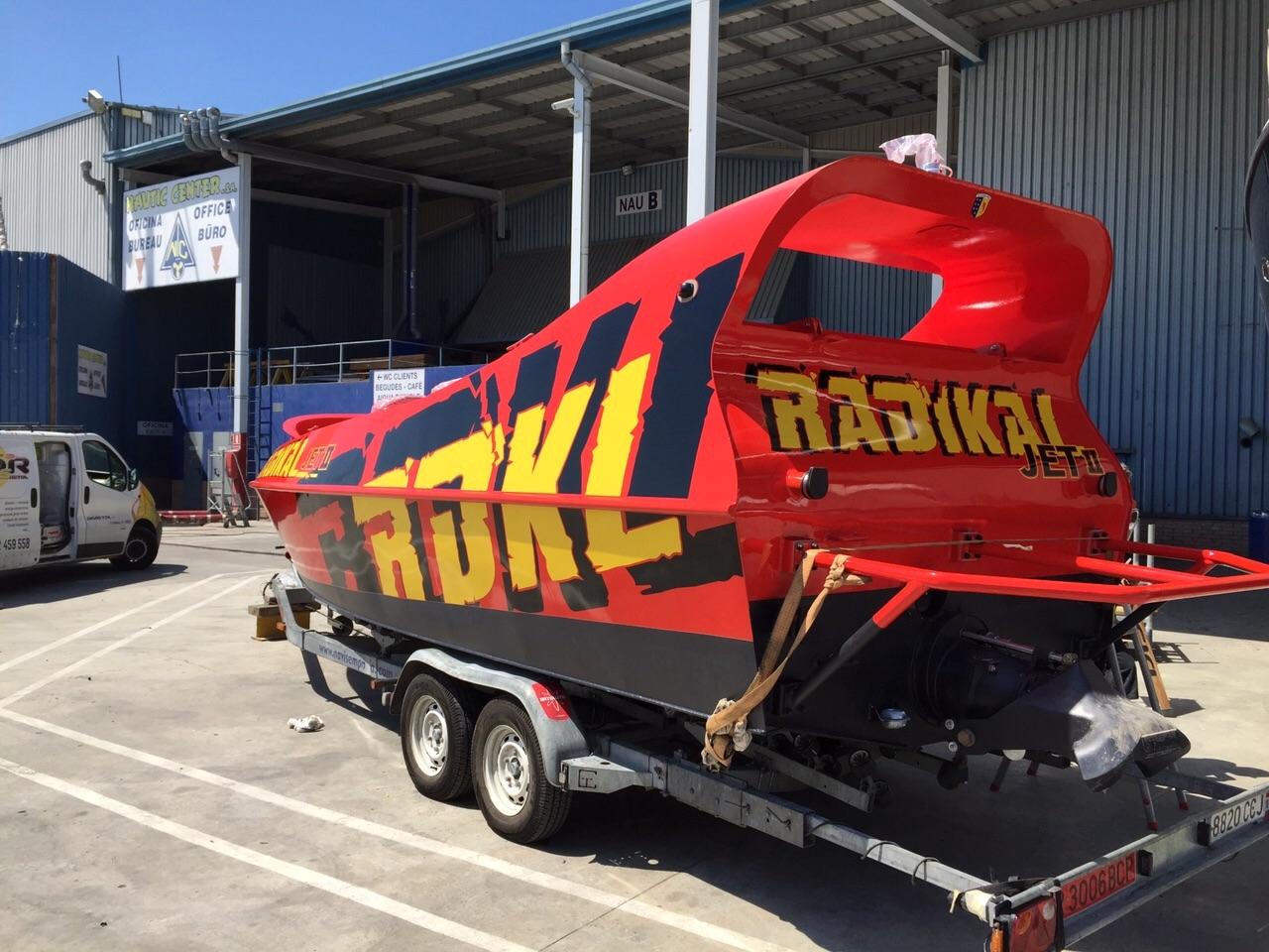 RADIKAL2 - Retolació embarcacions