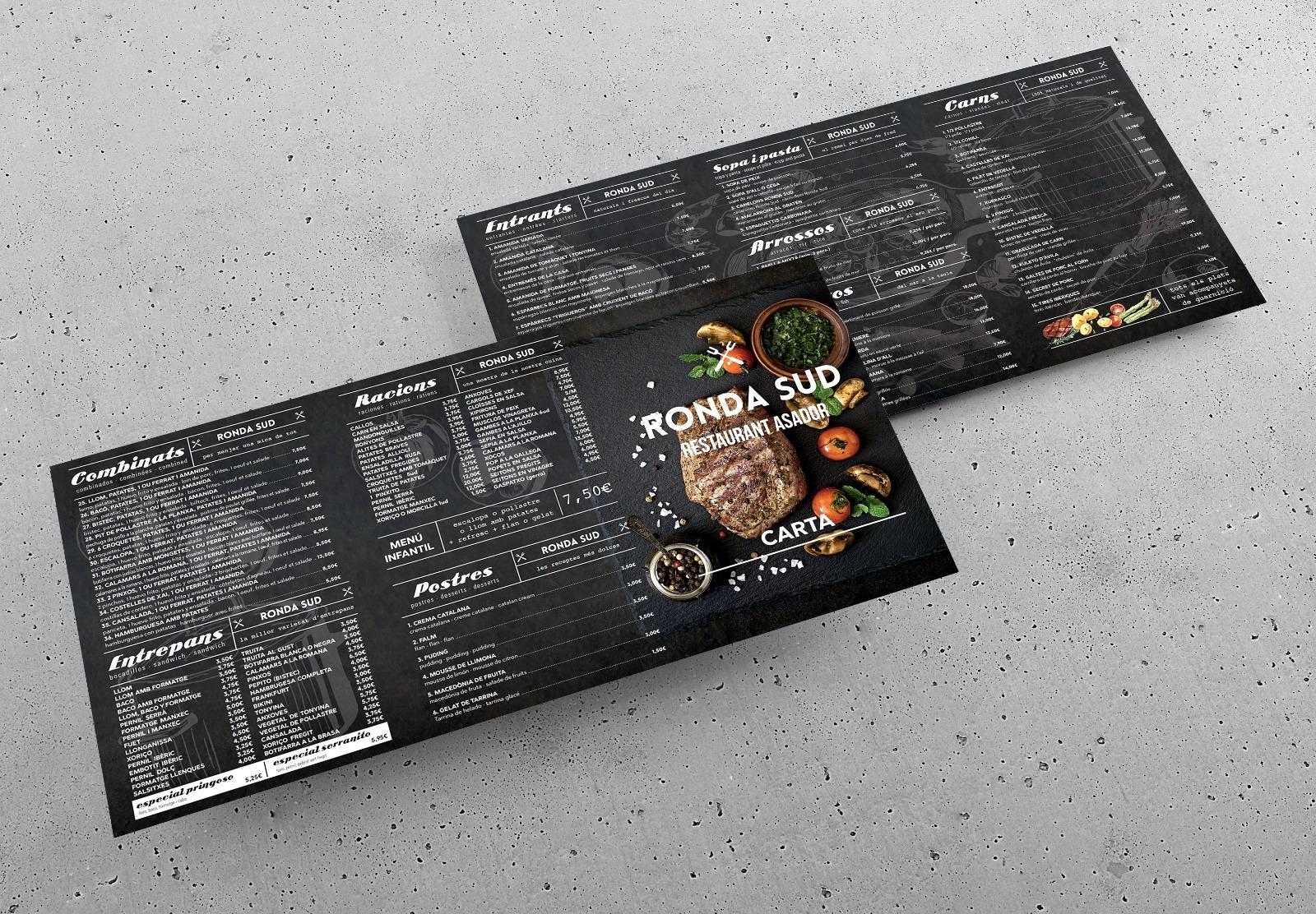 RONDASUD - Cartes