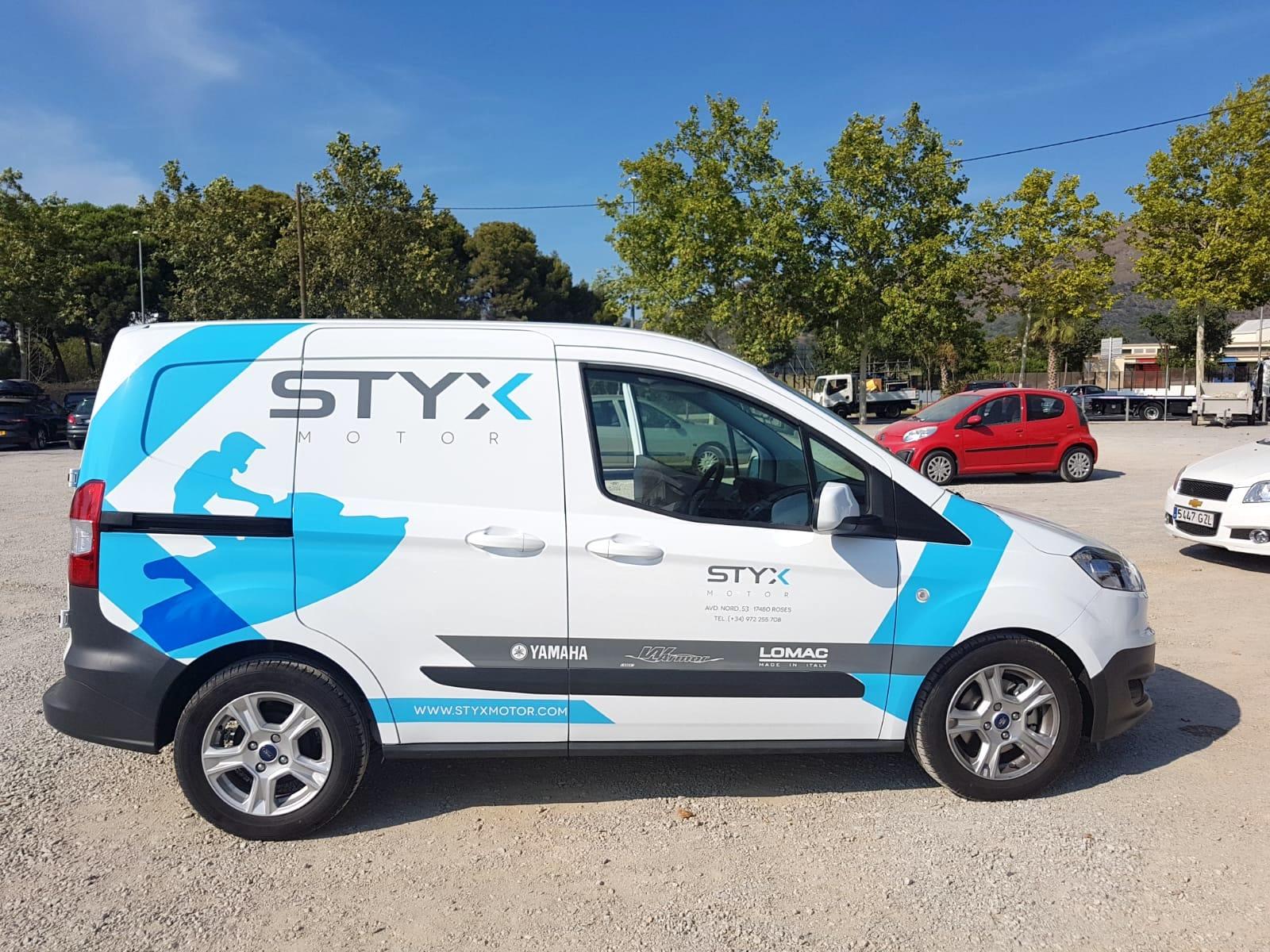 STYXMOTOR - Retolació vehicles
