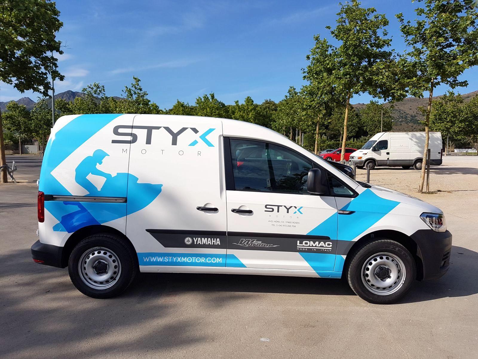 STYXMOTOR2 - Retolació vehicles