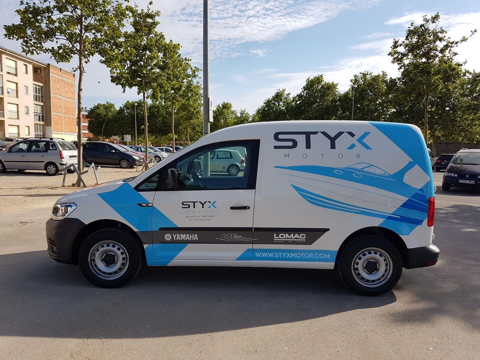 STYXMOTOR6 - Retolació vehicles