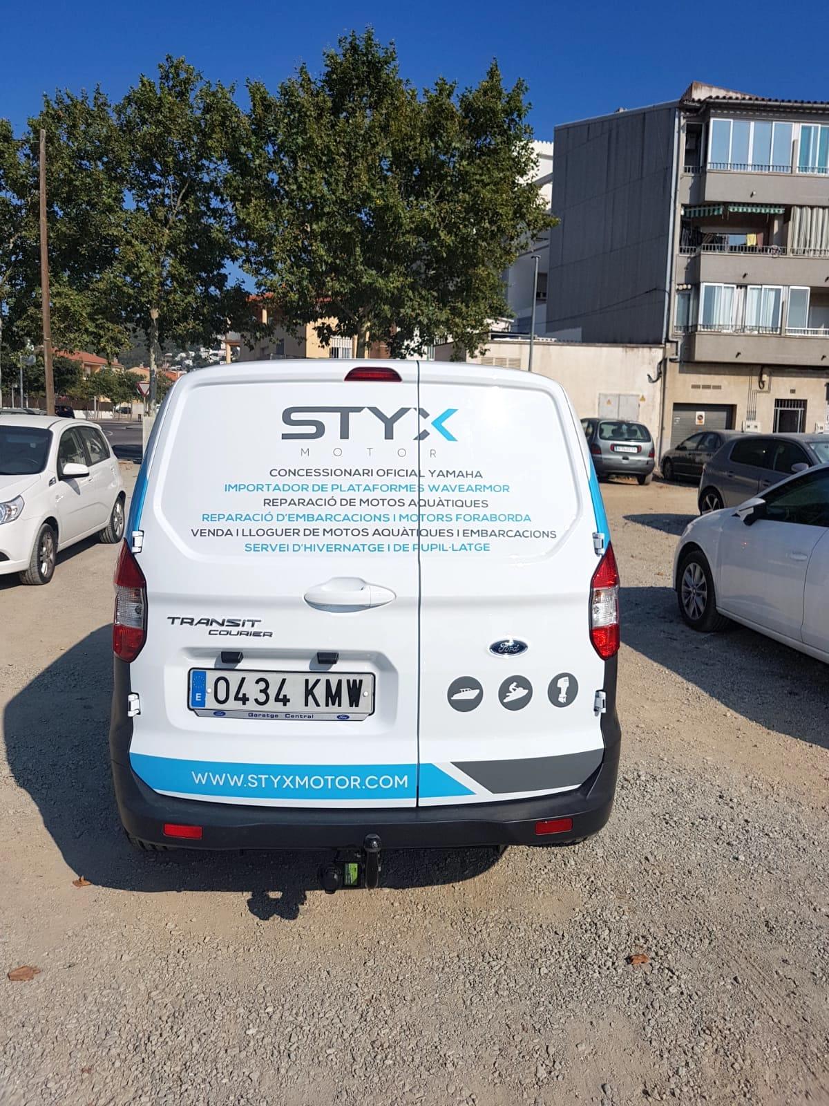 STYXMOTOR7 - Retolació vehicles