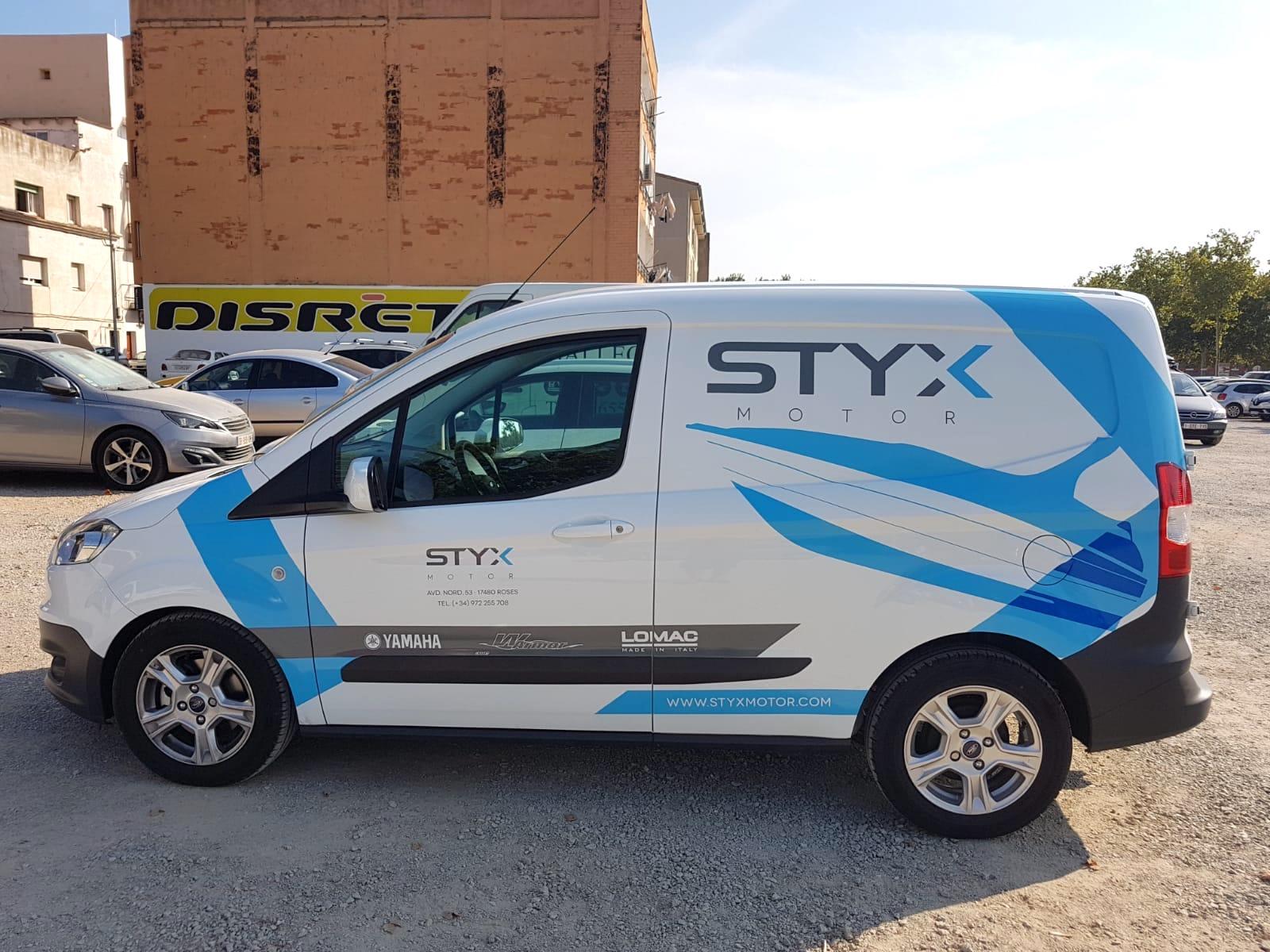 STYXMOTOR8 - Retolació vehicles