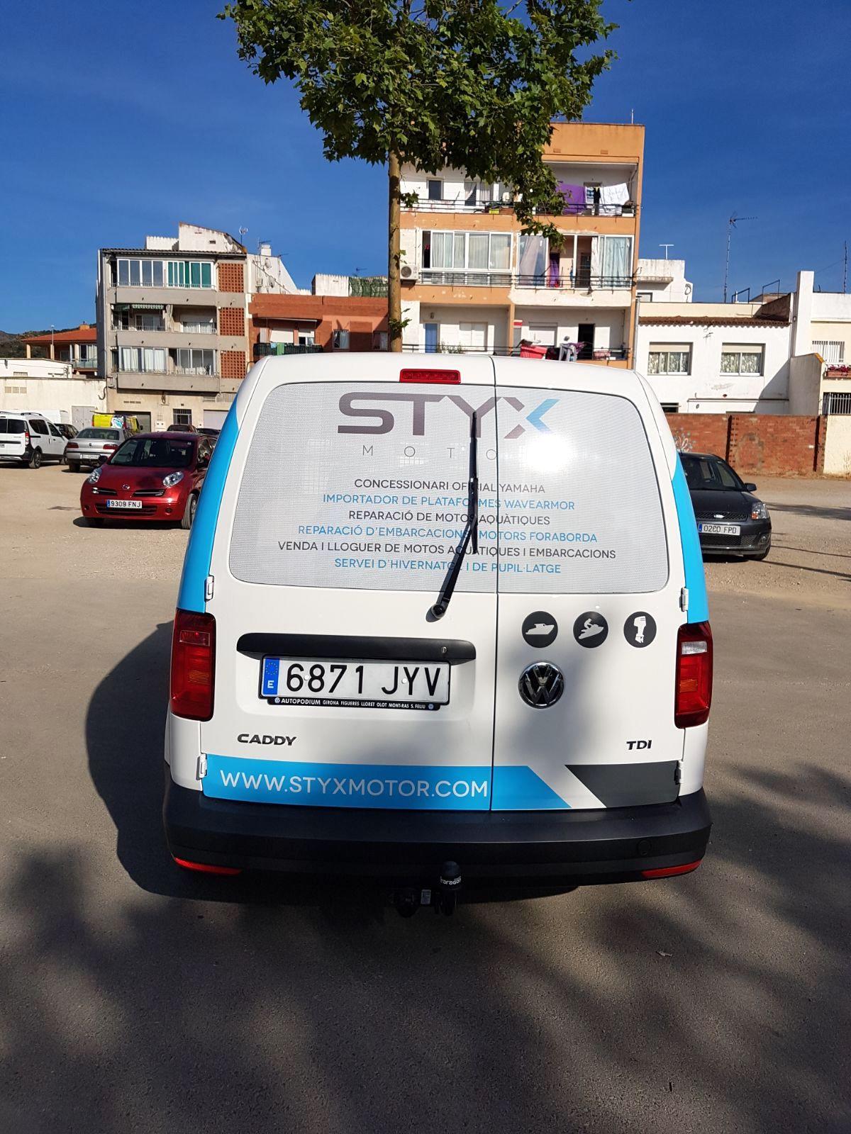 STYXMOTOR9 - Retolació vehicles