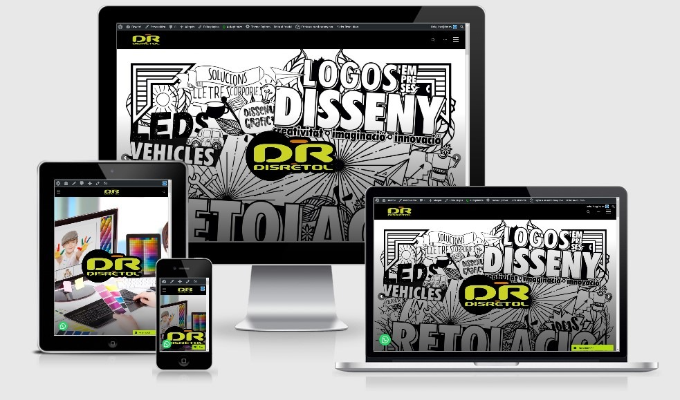 disretolnet - Disseny web